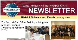 District76 News / January, 2013