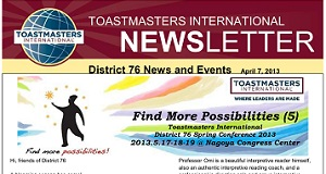 District76 News / March, 2013