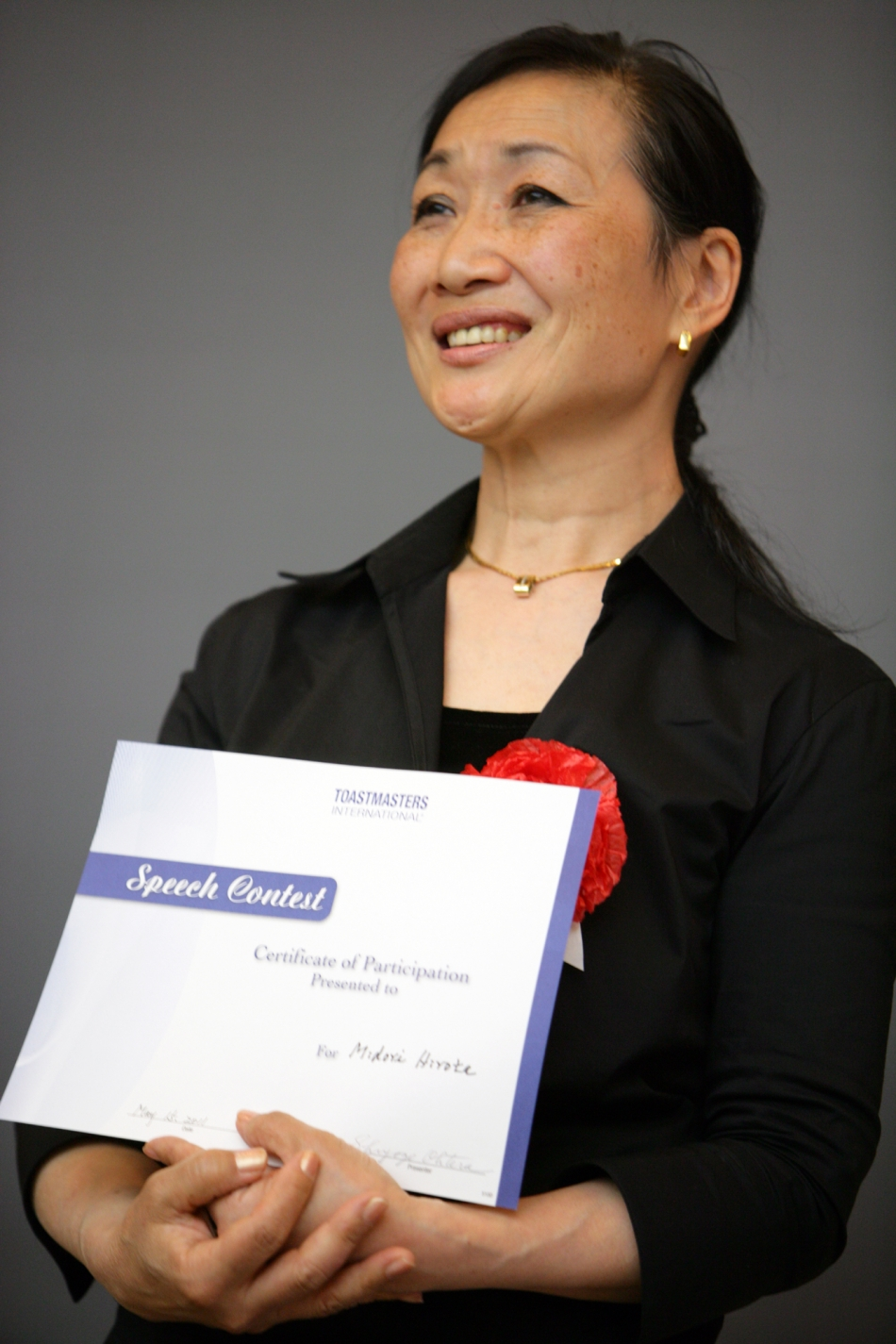 Thirs Place Winner, Midori Hirota, 2011