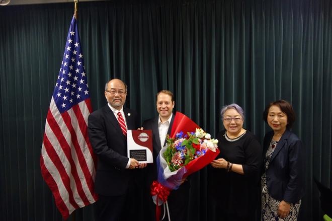 2015年コミュニケーション・リーダーシップ賞(キャロライン ケネディ駐日米国大使)授与式