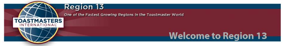 トーストマスターズ・リージョン13